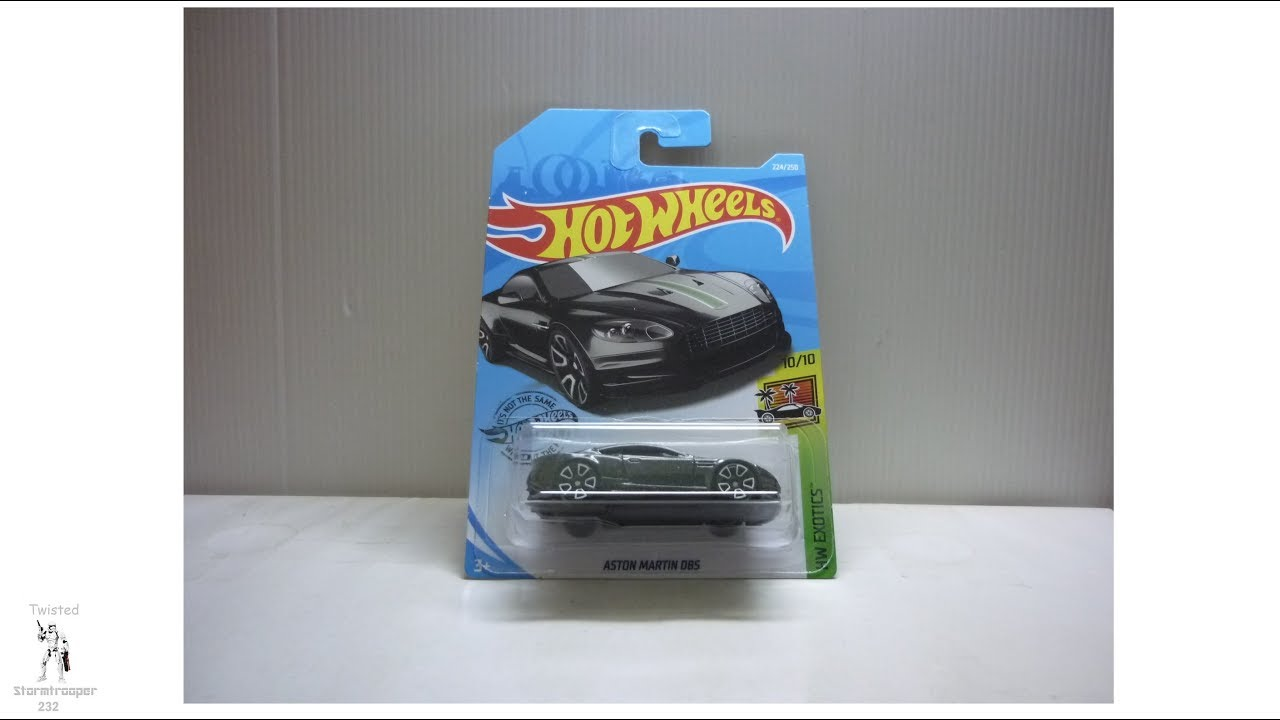 Hot Wheels Aston Martin DBS unboxing and review