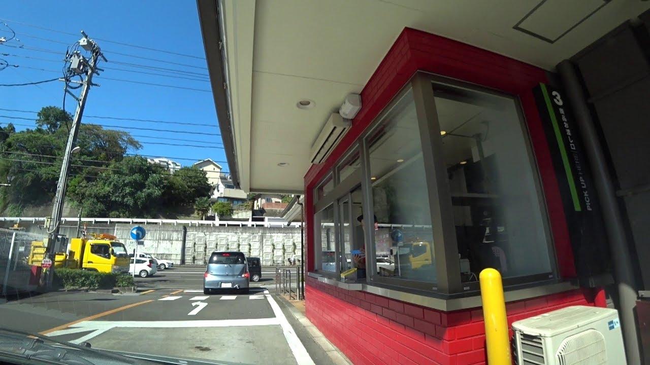 マクドナルド仙台黒松店ドライブスルー平面駐車場 McDonald's Drive Through