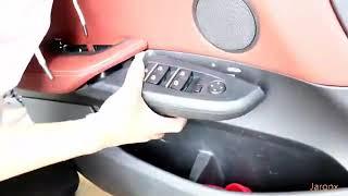BMW X3 X4 Door Armrest Storage Box Installation