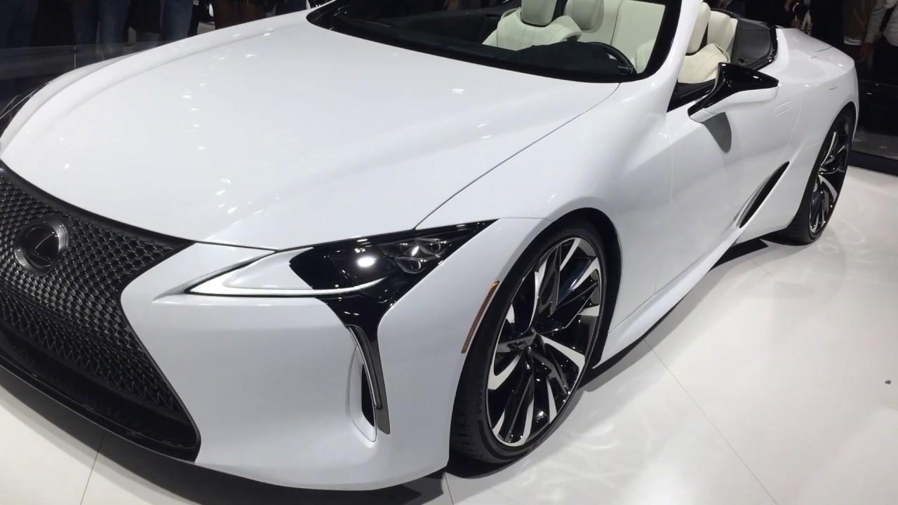 レクサス   LC500コンバーチブル【LEXUS LC500 Convertible】 東京モーターショー2019 (TOKYO  MOTOR  SHOW  2019 )にて