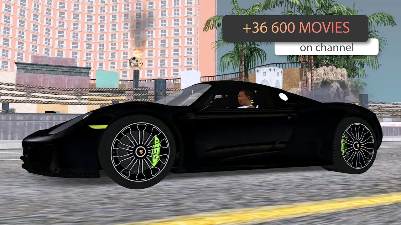 Porsche 918 Spyder 2014 GTA SA _ #GWM movie #mods
