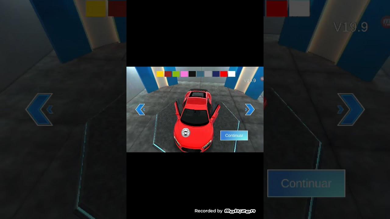 Usando o Audi tt no aula de condução 3d