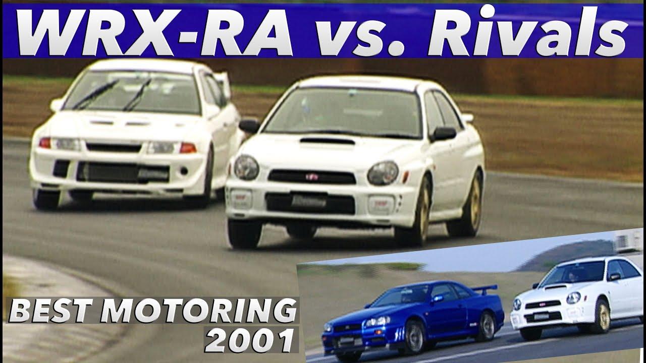 インプレッサWRX STi RA vs.ライバル 全開テスト!!【Best MOTORing】2001