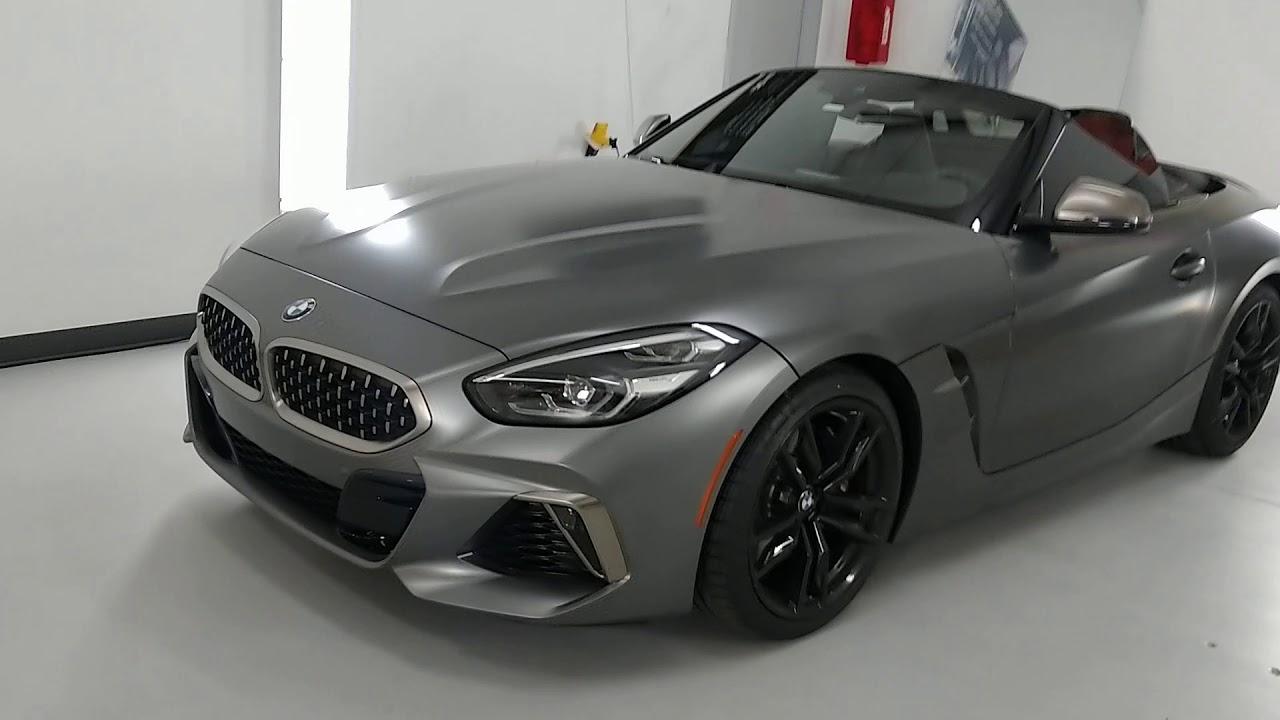 2020 BMW Z4 M40i Xpel XR Black Ceramic Window Film TintManWindowTinting.com #TintManFL #BMW #Z4 #M40