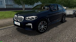 City Car Driving 1.5.9   BMW X4 G02 M40D   Custom Sound   60 FPS 1080p