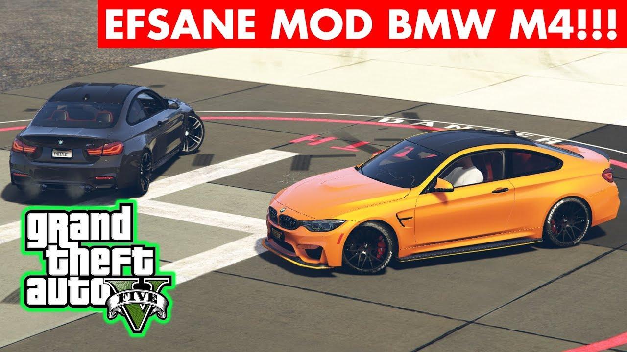 GTA 5 BMW M4 MODU!!! ARAÇ SESİ GTA'DA TEK EFSANE!!!