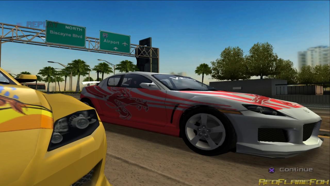 MIAMI (Mazda RX-7) - SRS: Street Racing Syndicate [1080p]