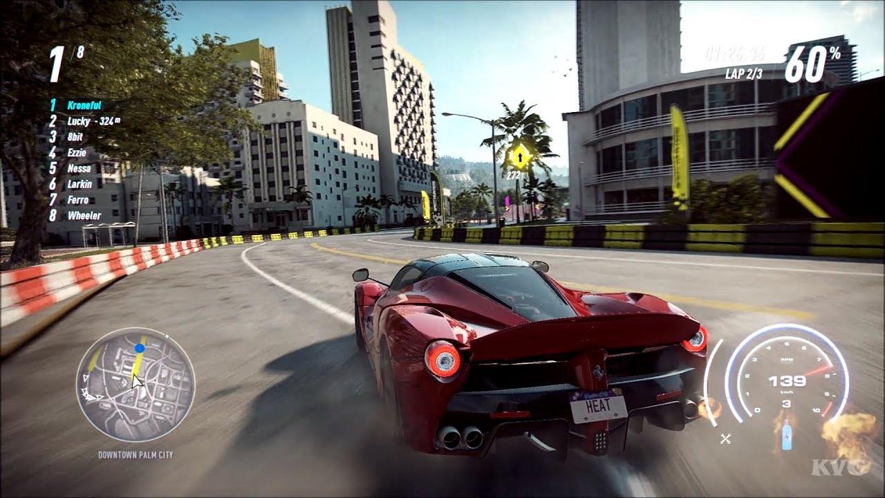 Need for Speed Heat - Ferrari LaFerrari 2013 Gameplay (PC HD) [1080p60FPS]