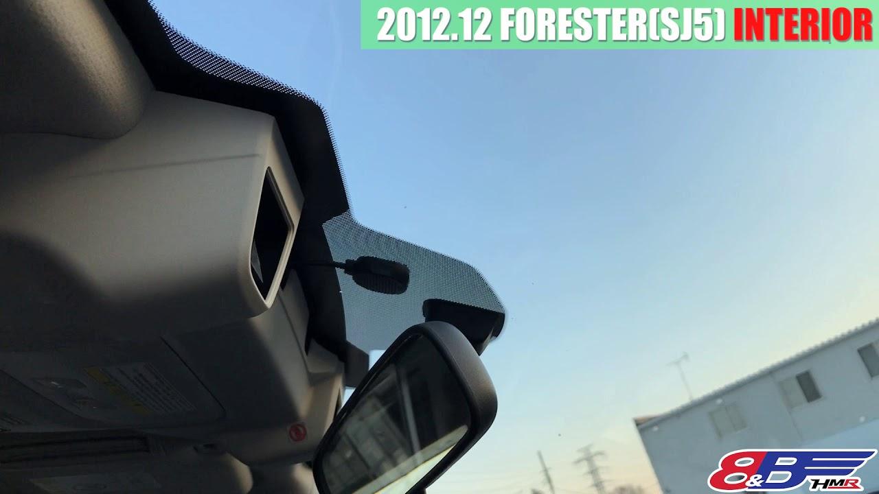 【中古車】フォレスター 2.0i-L アイサイト 内装編
