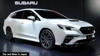 ( 4K ) Subaru Levorg STI Sport prototype : White