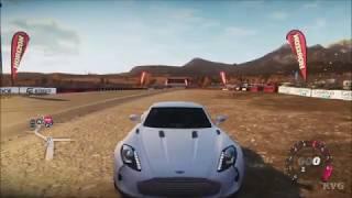 Forza Horizon  Aston Martin One77 2010  Open World Free Roam Gameplay HD  1080p60FPS