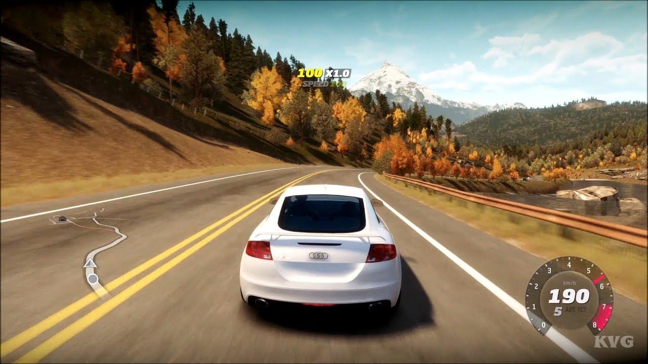 Forza Horizon - Audi TT RS Coupe 2010 - Open World Free Roam Gameplay (HD) [1080p60FPS]