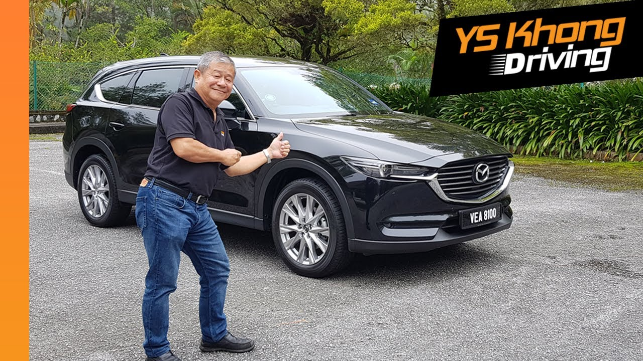 Mazda CX-8 2.5 Mid Spec (Pt.2) Walkaround Review - Smaller Version of  CX-9