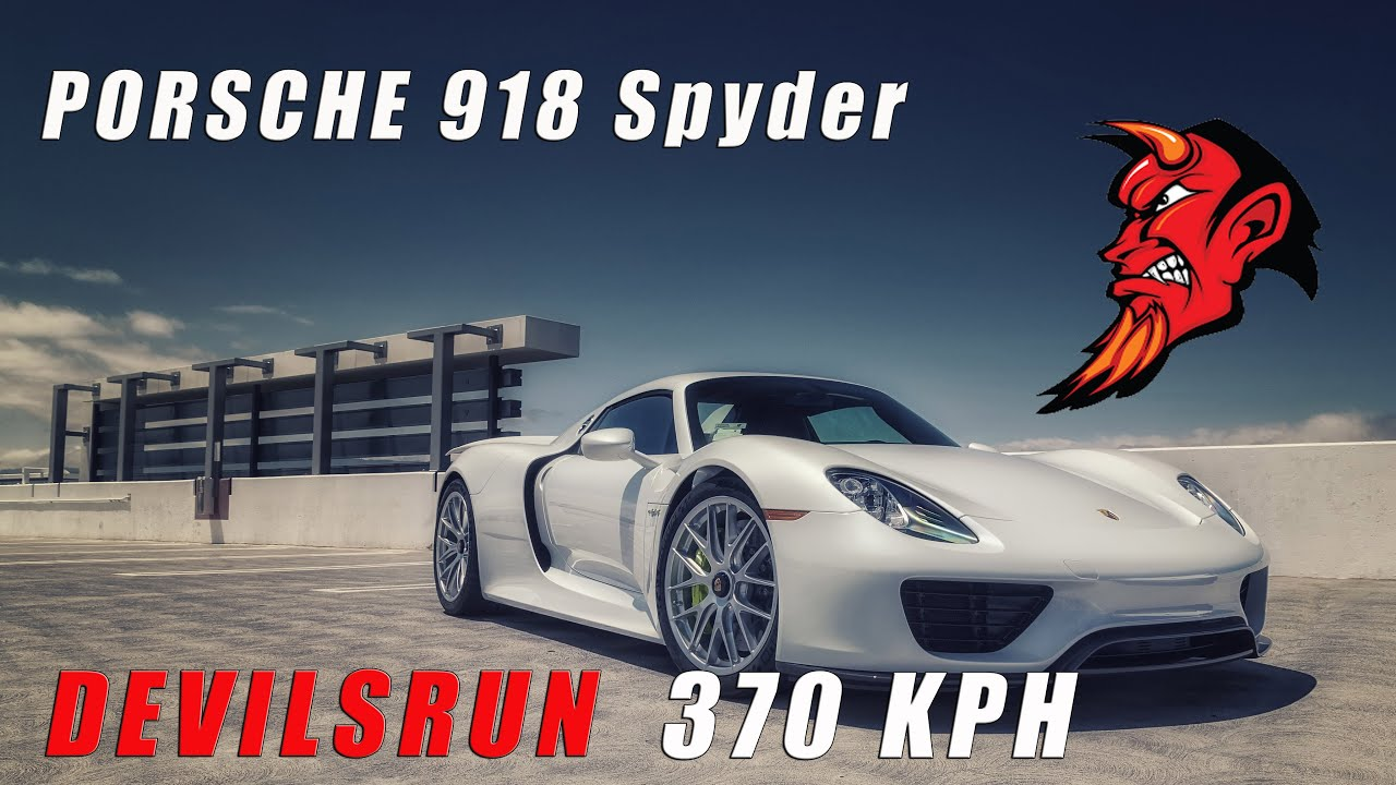 PORSCHE 918 Spyder - DEVILSRUN Chapter 1 | NEED4SPEED