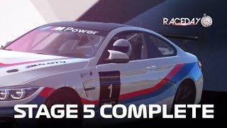 Real Racing 3 Race Day: BMW M4 GT4 Stage 5 Complete
