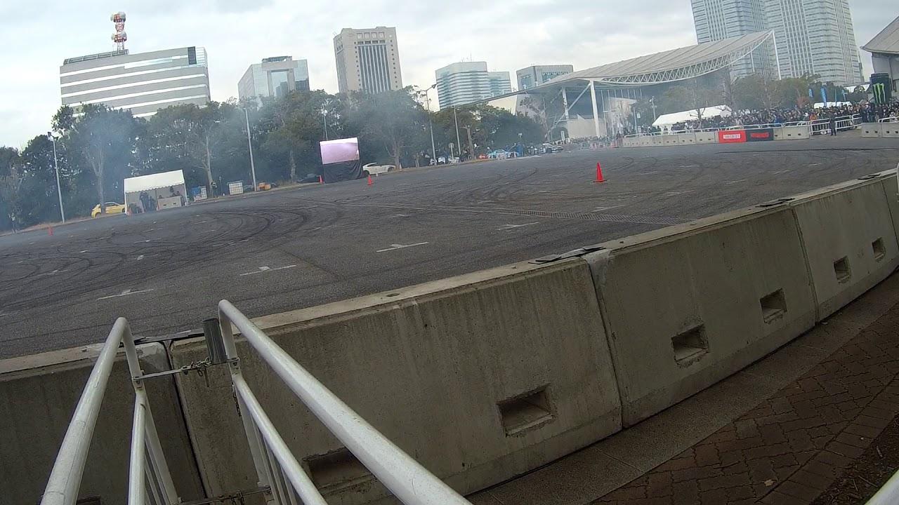 TOKYO AUTO SALON 2020 ドリフト デモラン 02 #D1 #TAS2020 #ドリフト デモラン #ドリフト #60fps