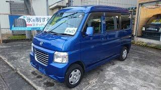 『新潟 南魚沼市』star field MOTOR GALLERY 中古車紹介 ホンダ バモスホビオ 4WD 5MT