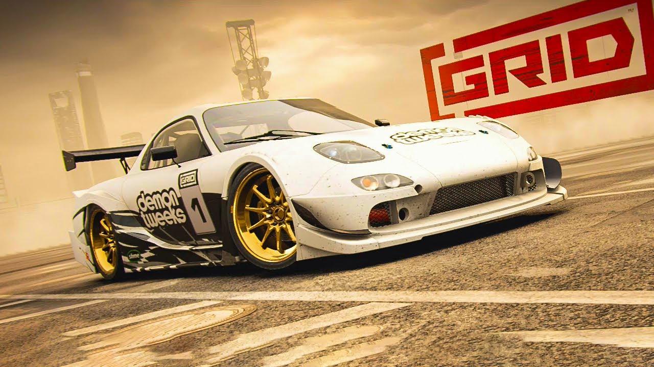 GRID Season 2 → Mazda RX7