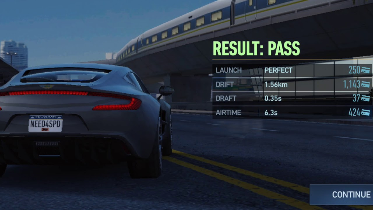 NEED FOR SPEED NO LIMITS PROVING GROUND ASTON MARTIN ONE-77