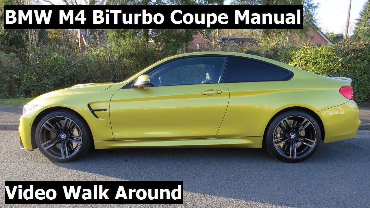 2016 BMW M4 3.0 BiTurbo Manual Video Walk Around