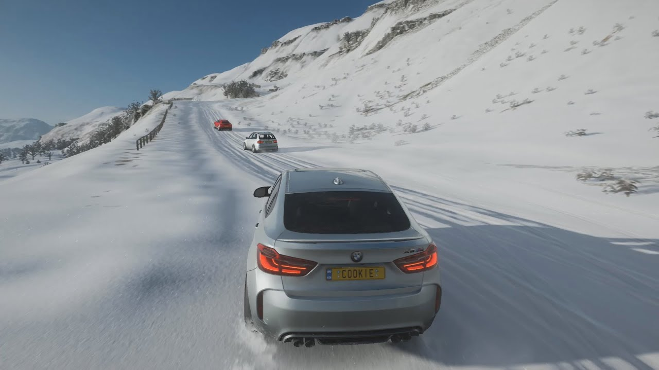 Forza Horizon 4 |  BMW X6 M | BMW X5 M | Lamborghini Urus Concept | SNOW'S MONSTERS | SOUND ONLY 🔊