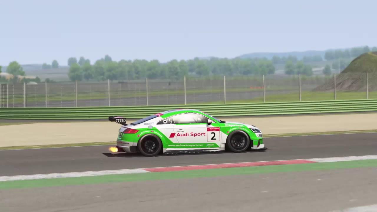 Assetto Corsa Audi TT Cup Circuito Vallelunga