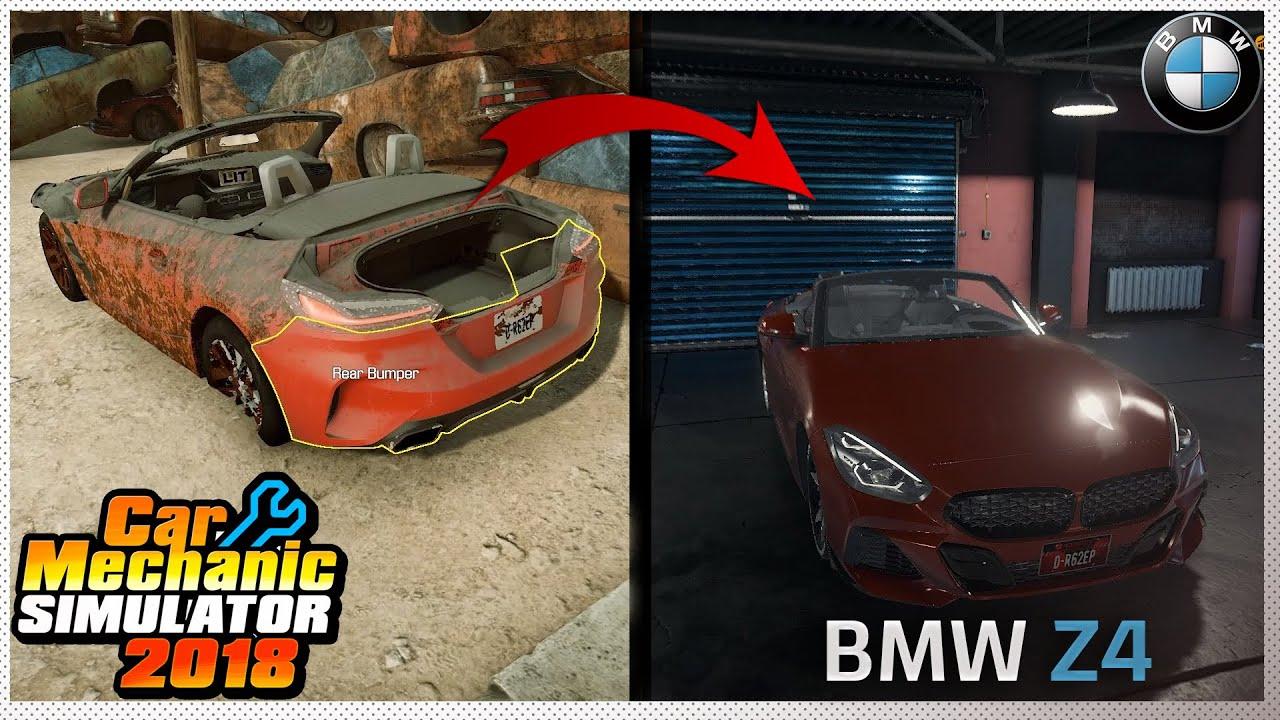 Car Mechanic Simulator 2018 - BMW Z4 Roadster