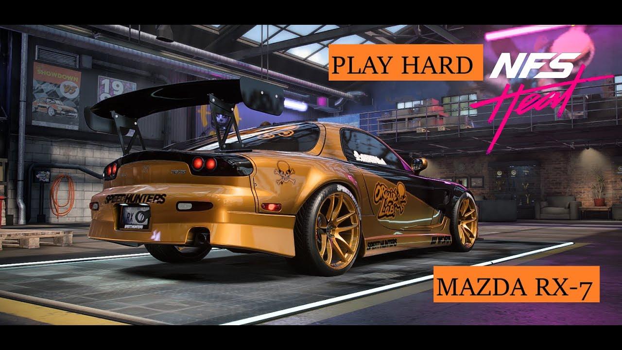 Play Hard MAZDA RX 7 Need For Speed HEAT INDONESIA