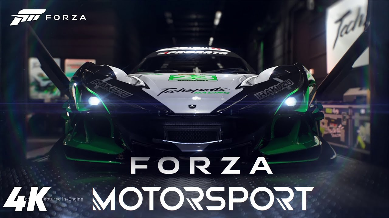 Forza Motorsport - Official 4K Series X Announcement Trailer