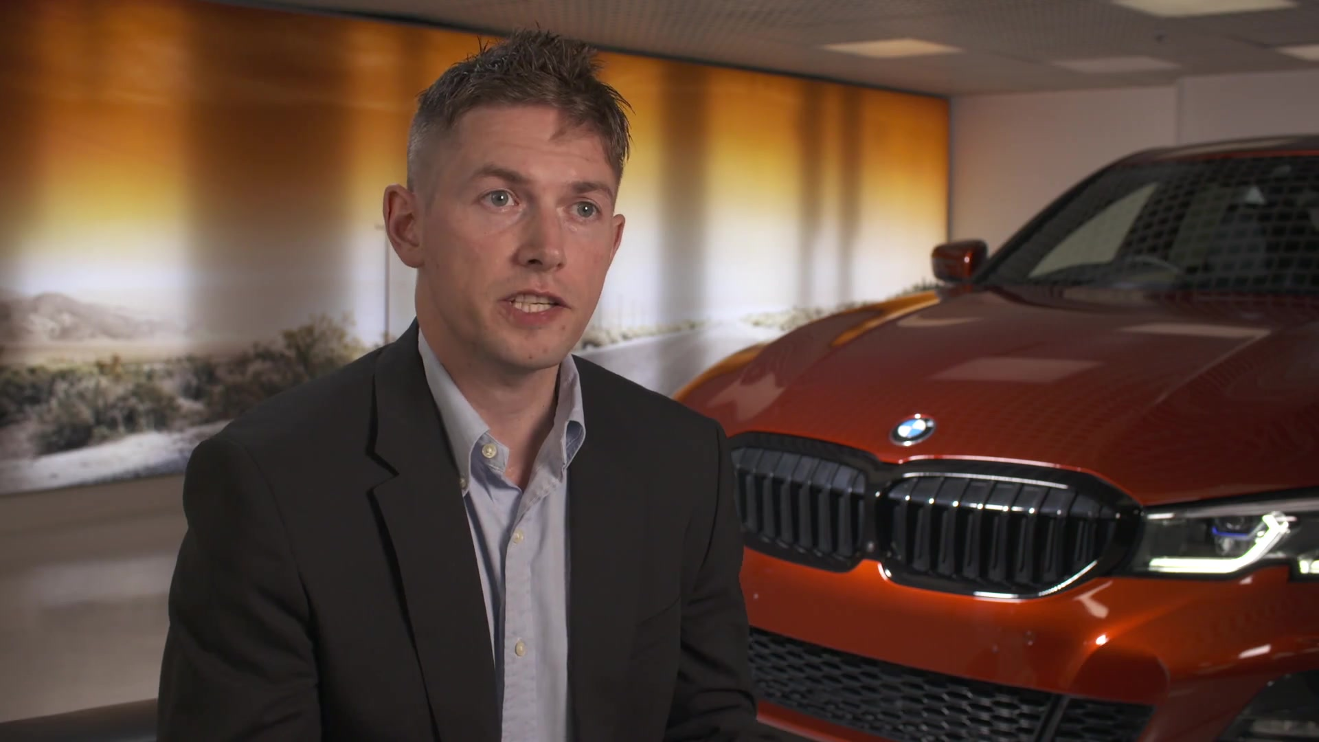 World-First eDrive Zones Technology Launches in the UK - Chris Hollis, Product Manager, BMW ConnectedDrive