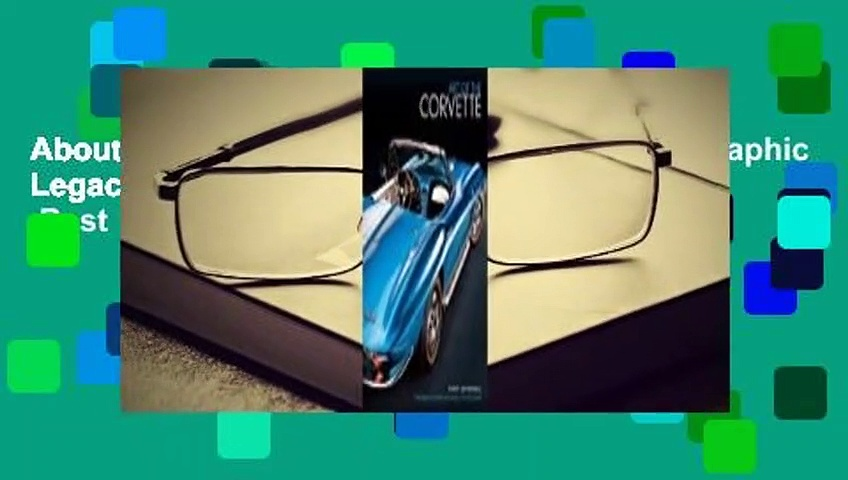 About For Books  Art of the Corvette: Photographic Legacy of America's Original Sports Car  Best