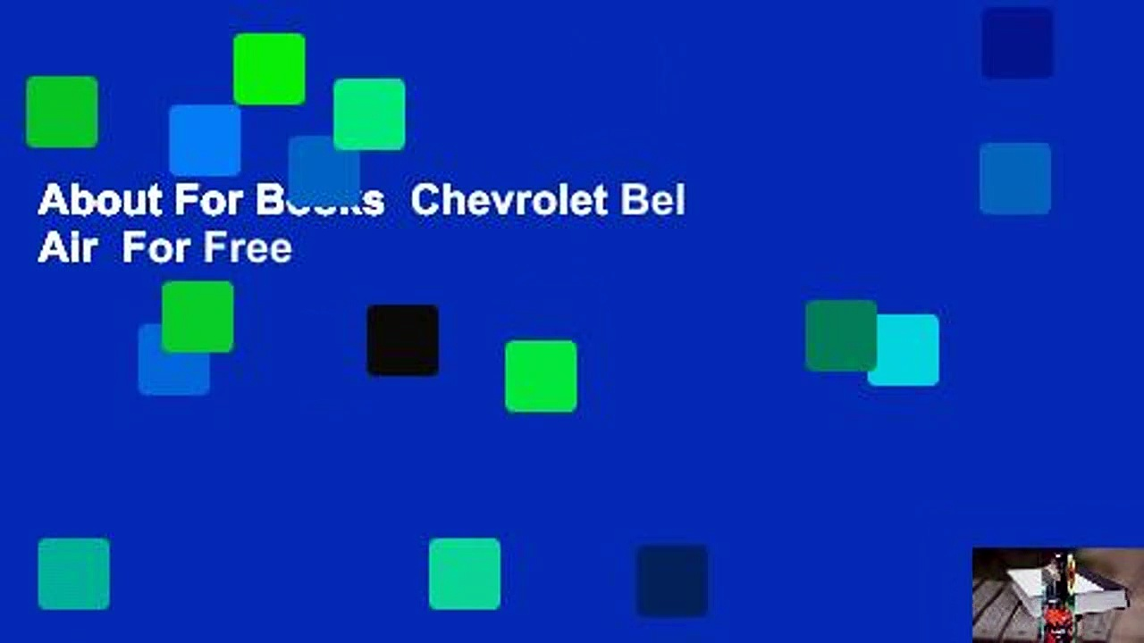 About For Books  Chevrolet Bel Air  For Free