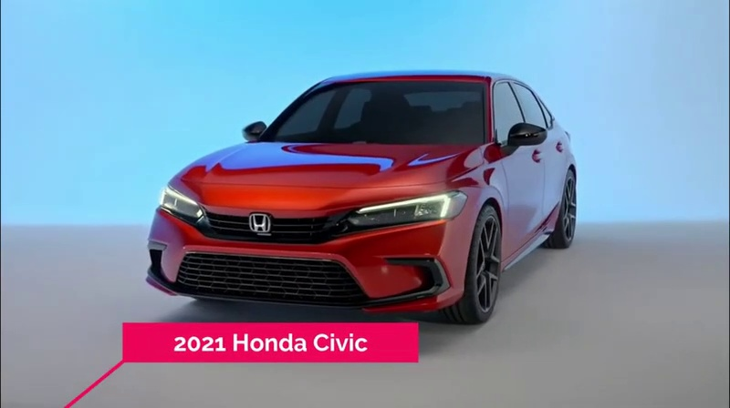 Honda Civic 2021 New Model Reveal - Official Video - Auto With Sid