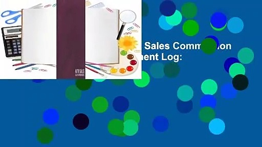 [Read] Undated Automotive Sales Commission Tracker and Client Appointment Log: Planner For Car