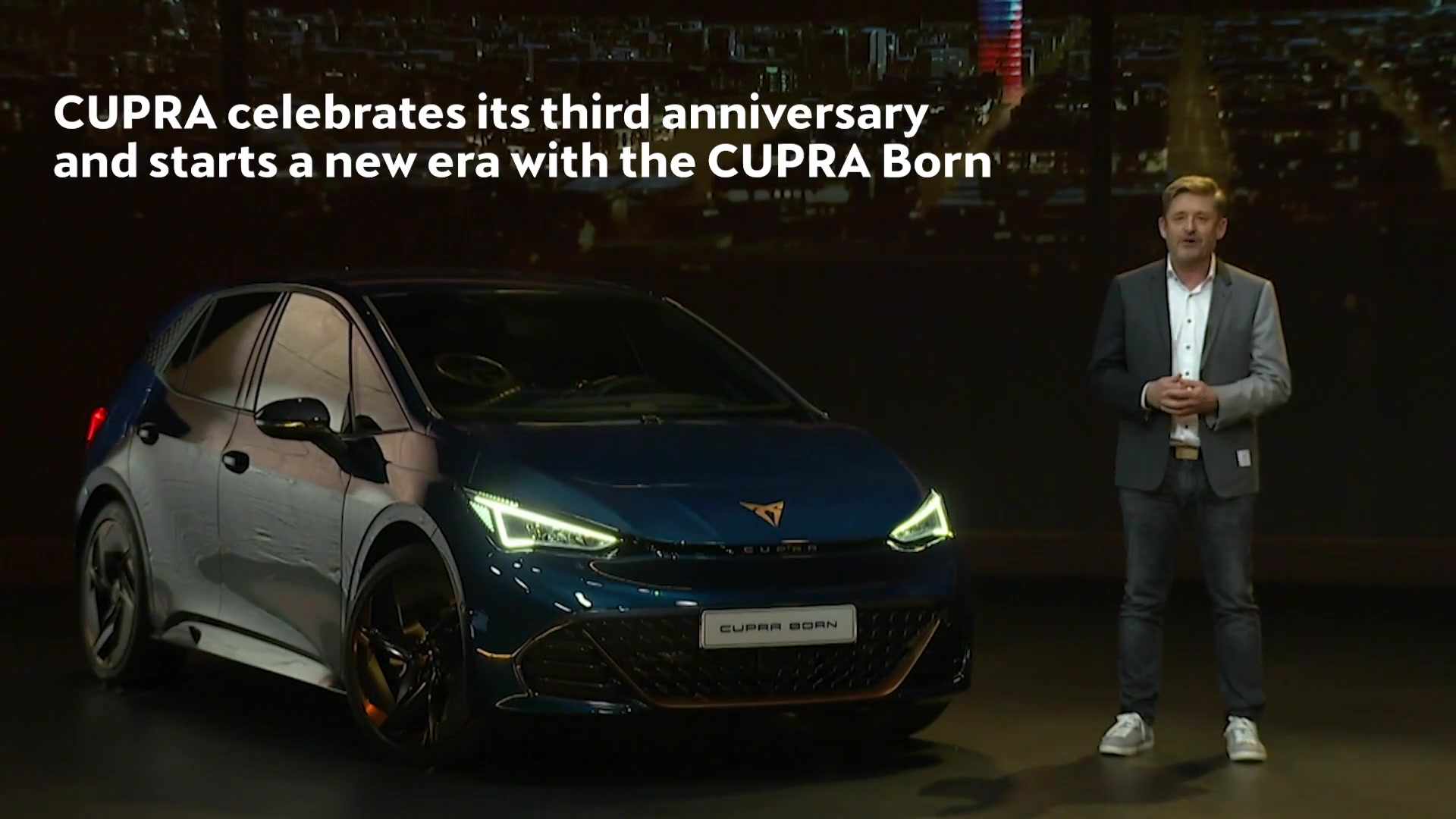 CUPRA celebrates its third anniversary and starts a new era with the CUPRA Born