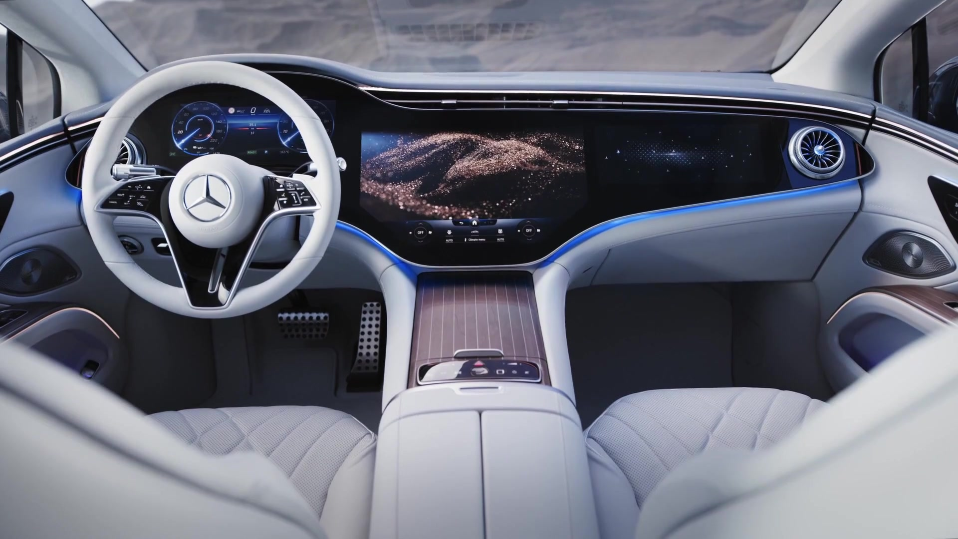 The Mercedes EQS - design for all the senses