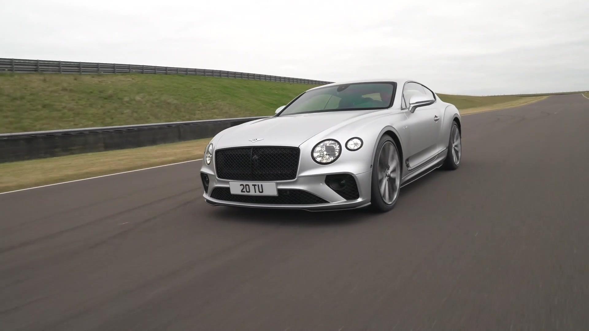 The new Bentley Continental GT Speed Design