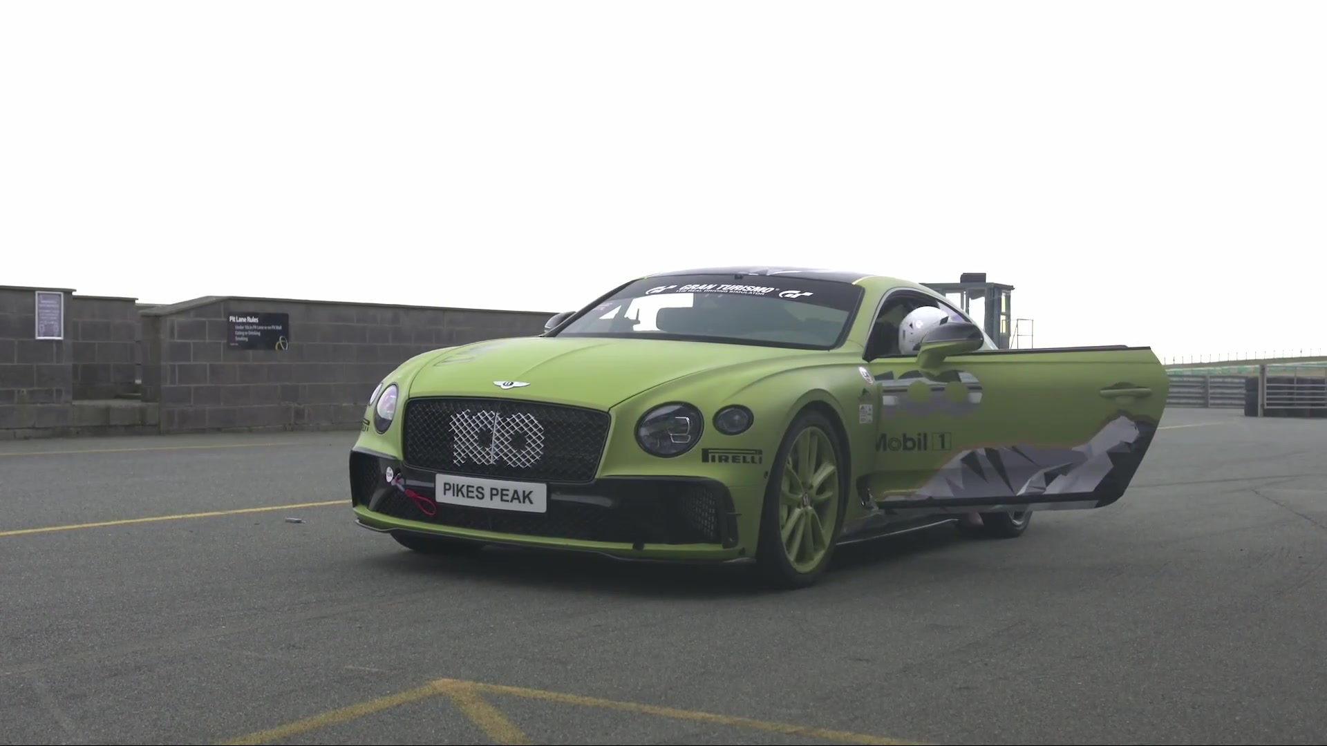 The Bentley Continental GT Speed Press conference