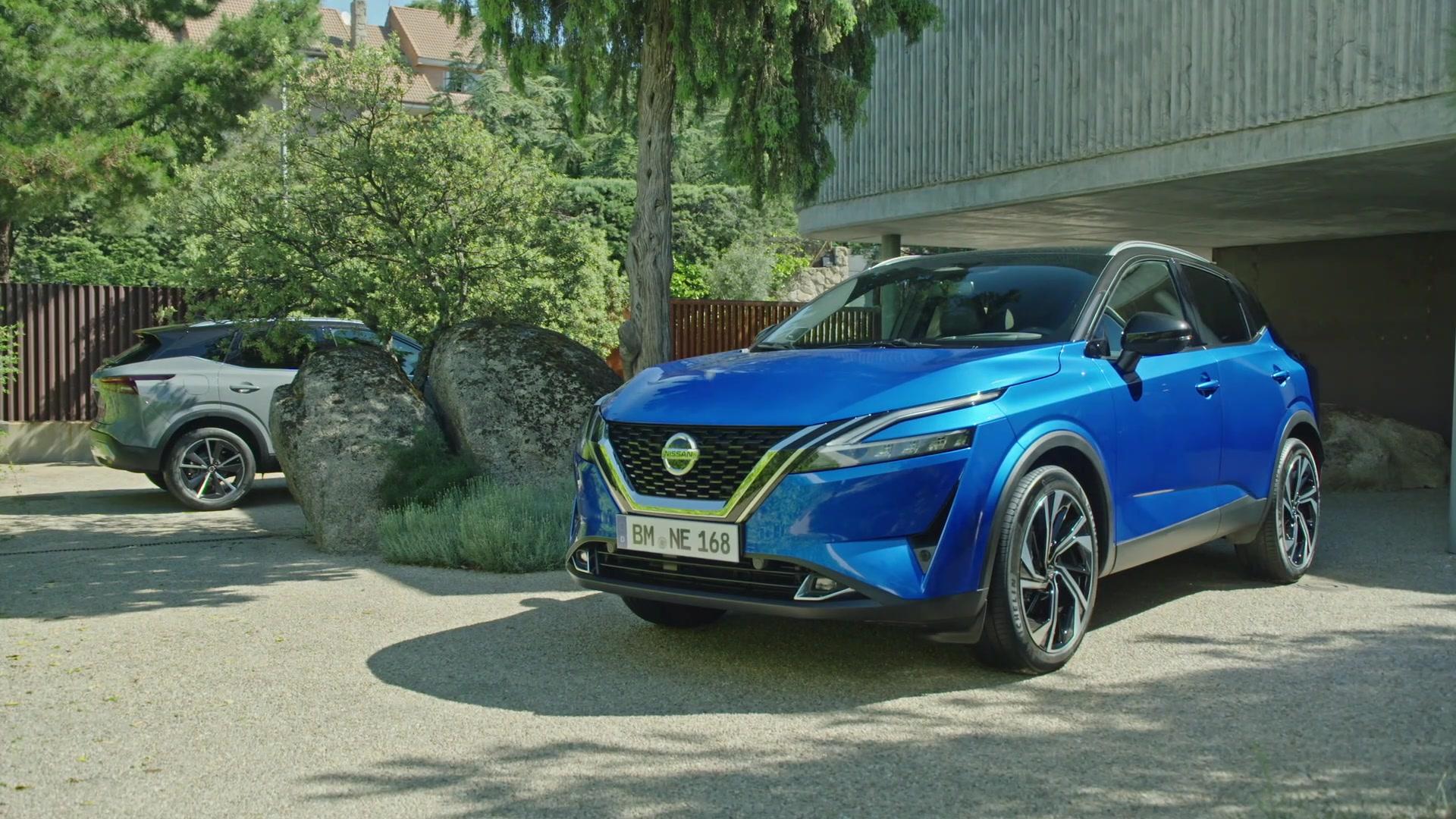 2021 Nissan Qashqai Exterior Design