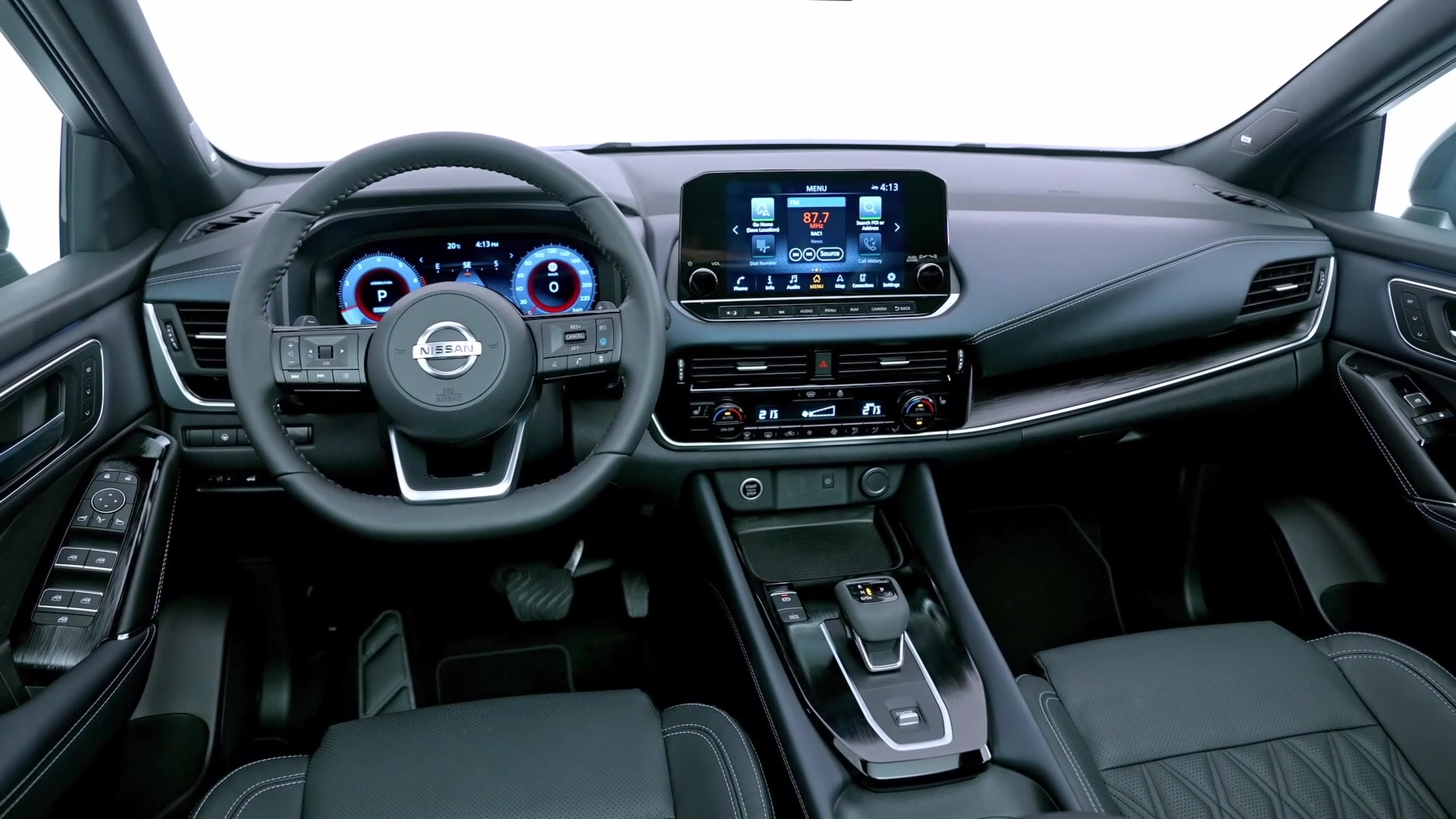 2021 Nissan Qashqai Interior Design