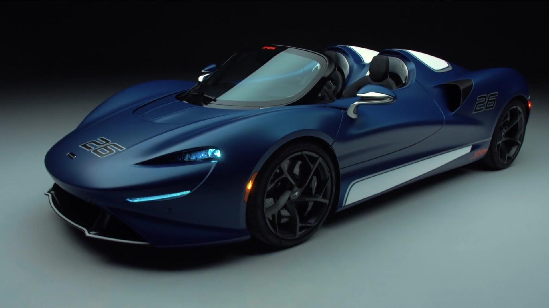 The Ultimate open-top roadster experience - windscreen version of ultra-exclusive McLaren Elva enters production