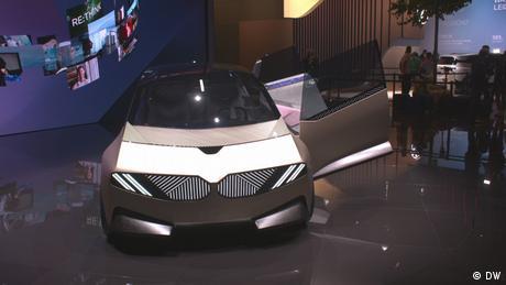 Futuristic automotive design at the IAA