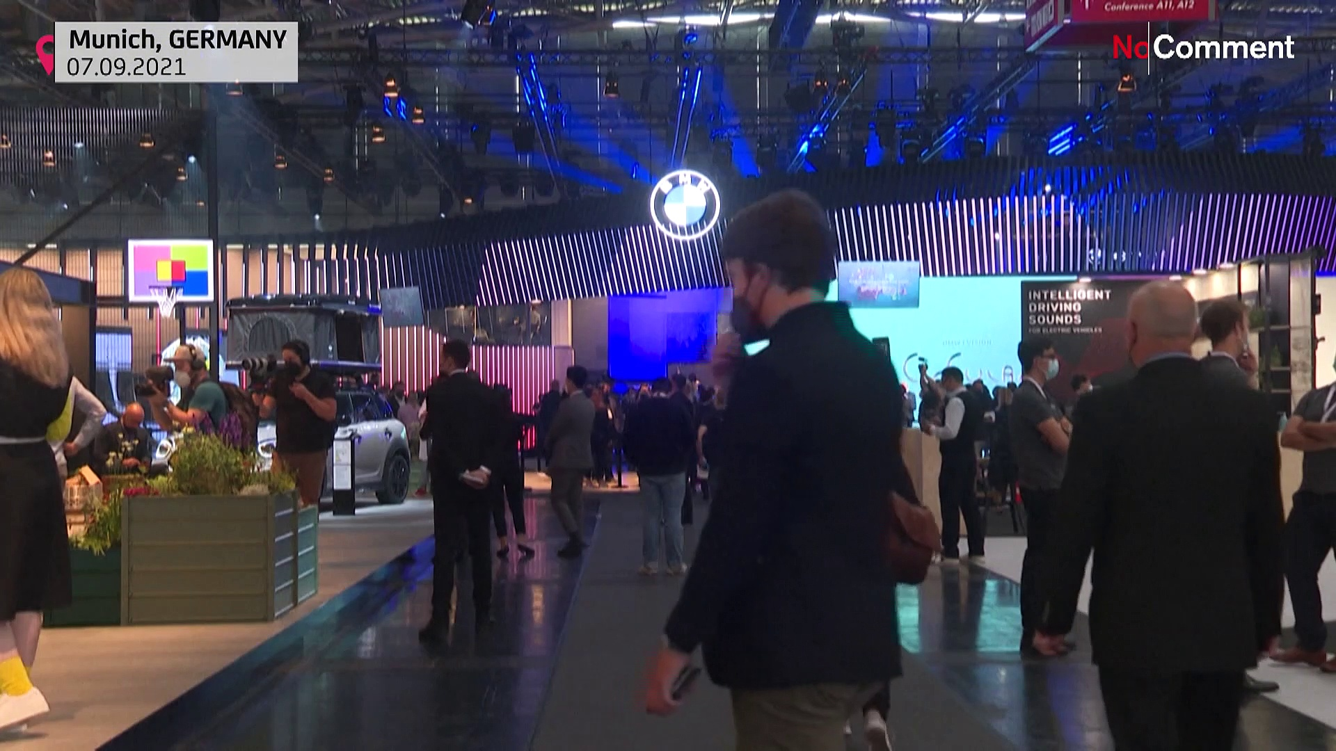 The IAA mobility show opens for the first time in Munich presenting new prototypes and models