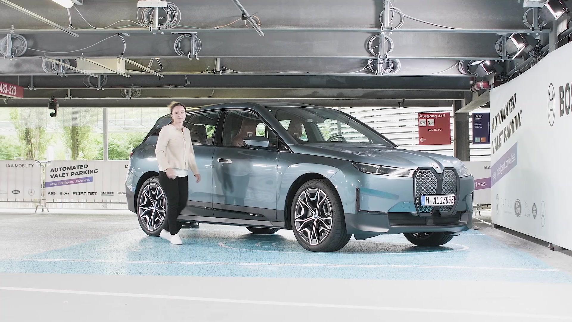 The new BMW iX - Automated Valet Parking @IAA MOBILITIY